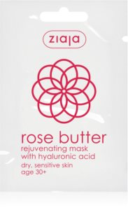 Ziaja Rose Butter Rejuvenating Face Mask 30+
