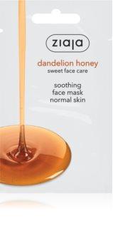 Ziaja Dandelion Honey máscara nutritiva de mel