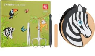 Zwilling Kids Jungle Set per manicure per bambini
