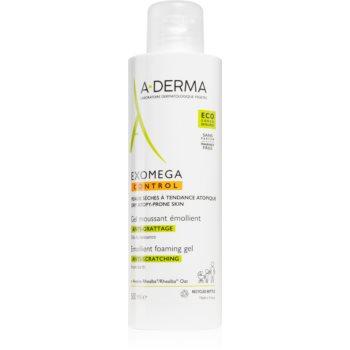 A-Derma Exomega gel de spălare emolient pentru piele uscata spre atopica imagine 2021 notino.ro