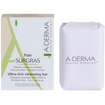 A-Derma Original Care sapun gentil pentru curatare imagine 2021 notino.ro