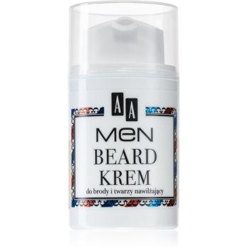 AA Cosmetics Men Beard cremă hidratantă pentru față și barbă imagine 2021 notino.ro