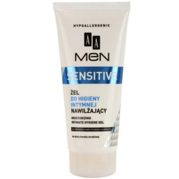AA Cosmetics Men Sensitive gel pentru igiena intima cu efect de hidratare imagine 2021 notino.ro