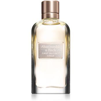 Abercrombie & Fitch First Instinct Sheer Eau de Parfum pentru femei imagine 2021 notino.ro