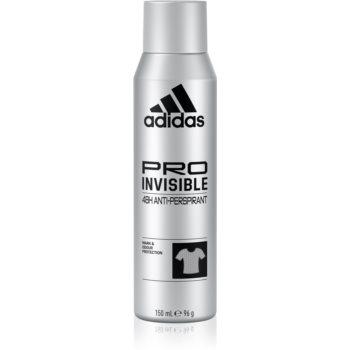 Adidas Pro Invisible antiperspirant impotriva petelor albe pentru barbati imagine 2021 notino.ro