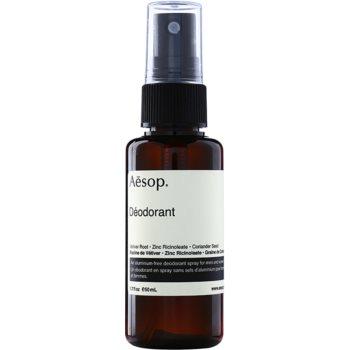 Aēsop Body Deodorant Spray fara continut de aluminiu imagine 2021 notino.ro