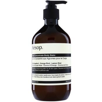 Aēsop Body Rind Concentrate balsam de corp hidratant pentru toate tipurile de piele imagine 2021 notino.ro