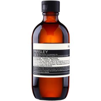 Aēsop Skin Parsley Seed ulei de curățare blând pentru piele uscata spre sensibila imagine 2021 notino.ro