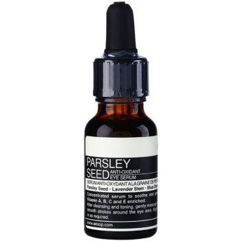 Aēsop Skin Parsley Seed ser antioxidant zona ochilor notino poza