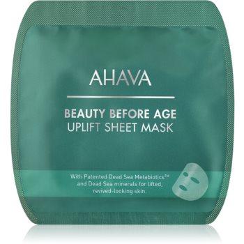 Ahava Beauty Before Age masca textila pentru netezire cu efect lifting image0