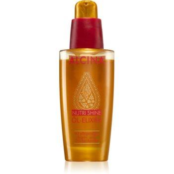Alcina Nutri Shine ulei elixir pentru păr strălucitor și elegant imagine 2021 notino.ro