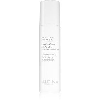 Alcina For All Skin Types tonic pentru piele cu alcool imagine 2021 notino.ro