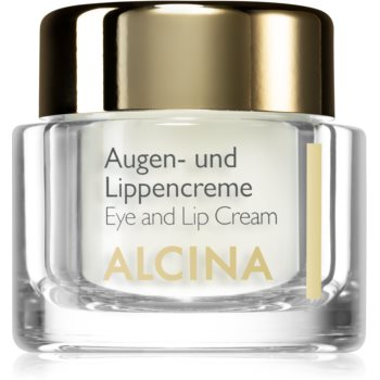 Alcina Effective Care crema pentru ochi si buze cu efect de netezire imagine 2021 notino.ro