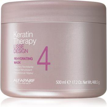 Alfaparf Milano Lisse Design Keratin Therapy masca rehidratanta pentru toate tipurile de păr imagine 2021 notino.ro