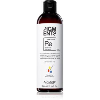 Alfaparf Milano Pigments șampon fortifiant pentru păr deteriorat pentru a evidentia culoarea parului imagine 2021 notino.ro