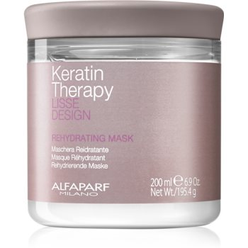 Alfaparf Milano Lisse Design Keratin Therapy masca rehidratanta pentru toate tipurile de păr notino.ro