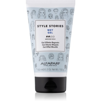 Alfaparf Milano Style Stories The Range Gel gel de par cu efect umed fixare medie imagine 2021 notino.ro