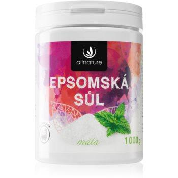 Allnature Epsomská sůl Mint sare de baie imagine 2021 notino.ro
