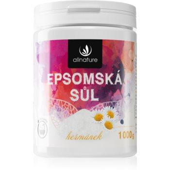 Allnature Epsomská sůl Chamomile saruri de baie imagine 2021 notino.ro