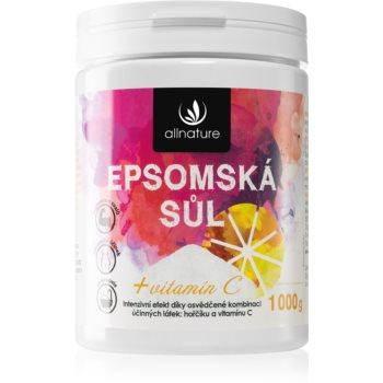 Allnature Epsomská sůl Vitamin C saruri de baie imagine 2021 notino.ro