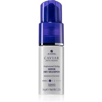 Alterna Caviar Anti-Aging suchý šampon pro absorpci přebytečného mazu a pro osvěžení vlasů 34 g