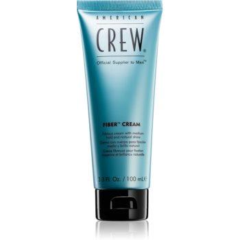 American Crew Styling Fiber Cream cremă de coafat pentru fermitate medie și reflexe naturale imagine 2021 notino.ro