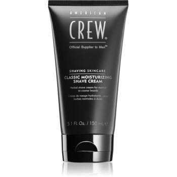 American Crew Shave & Beard Classic Moisturizing Shave Cream Cremă de Ras din plante imagine 2021 notino.ro