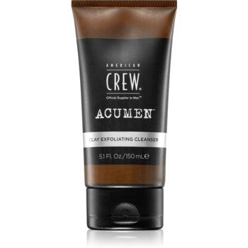 American Crew Acumen gel exfoliant de curățare pentru barbati imagine 2021 notino.ro
