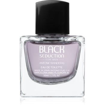 Antonio Banderas Black Seduction Eau de Toilette pentru bărbați