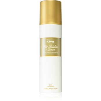 Antonio Banderas Her Golden Secret deodorant spray pentru femei
