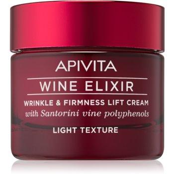 Apivita Wine Elixir Santorini Vine cremă antirid ușoară cu efect de întărire imagine 2021 notino.ro