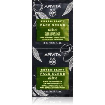 Apivita Express Beauty Olive peeling intensiv de curățare facial imagine 2021 notino.ro