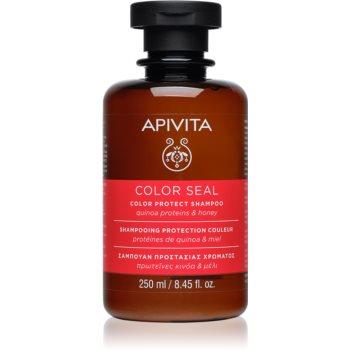 Apivita Holistic Hair Care Sunflower & Honey șampon pentru protecția părului vopsit notino.ro