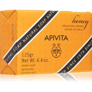 Apivita Natural Soap Honey săpun solid pentru curățare imagine 2021 notino.ro