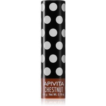 Apivita Lip Care Chestnut balsam de buze tonifiant imagine 2021 notino.ro
