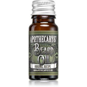 Apothecary 87 Original Recipe ulei pentru barba imagine 2021 notino.ro
