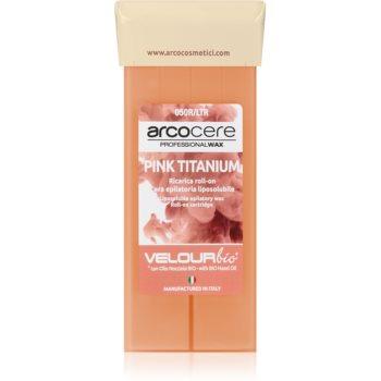 Arcocere Professional Wax Pink Titanium ceară depilatoare roll-on imagine 2021 notino.ro