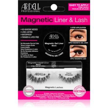 Ardell Magnetic Liner & Lash set de cosmetice Demi Wispies (pentru gene) tip imagine 2021 notino.ro