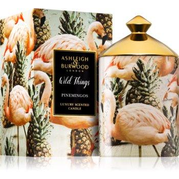 Ashleigh & Burwood London Wild Things Pinemingos lumânare parfumată (Coconut & Lychee)