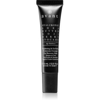 Avant Age Radiance Brightening & De-Puffing Hyaluronic Overnight Eye Recovery Mask Masca pentru ochi pentru reducerea cearcanelor pentru noapte image0