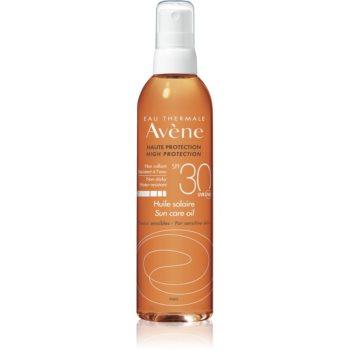 Avène Sun Sensitive ulei spray pentru bronzare SPF 30 imagine 2021 notino.ro