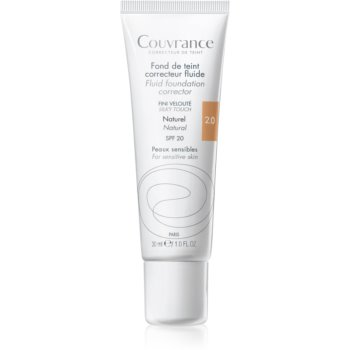 Avène Couvrance makeup lichid SPF 20 notino.ro