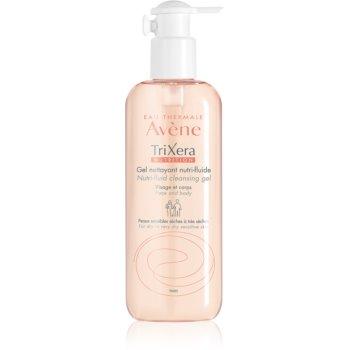 Avène TriXera Nutrition gel de curățare pentru fata si corp notino.ro