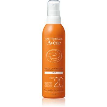 Avène Sun Sensitive spray pentru bronzat SPF 20 notino.ro
