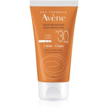 Avène Sun Sensitive crema pentru bronzat SPF 30 imagine 2021 notino.ro