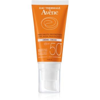 Avène Sun Sensitive Crema protectoare pentru pielea uscată și sensibilă SPF 50+ notino.ro