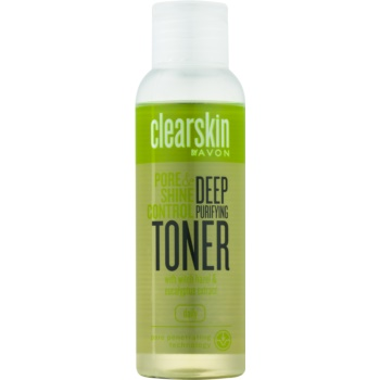 Avon Clearskin Pore & Shine Control lotiune faciala pentru curatare profunda cu efect racoritor imagine 2021 notino.ro