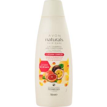 Avon Naturals Hair Care sampon si balsam 2 in 1 imagine 2021 notino.ro