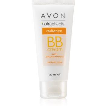 Avon Nutra Effects Radiance rozjasňující BB krém 5 v 1 odstín Light 30 ml