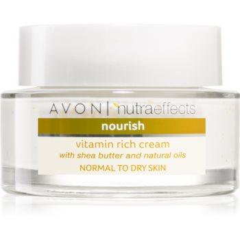 Avon Nutra Effects Nourish vyživující krém s bambuckým máslem 50 ml